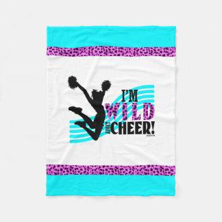 Wild About Cheer Fleece Blanket