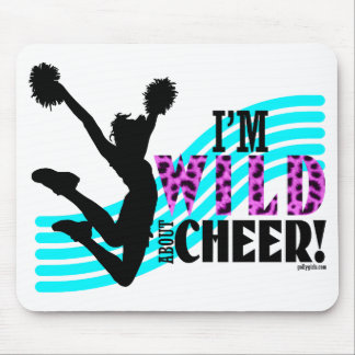 Wild About Cheer Mouse Pad