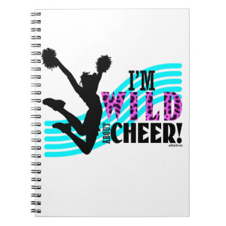 Wild About Cheer Note Book