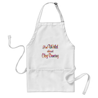 Wild About Clog Dancing Standard Apron