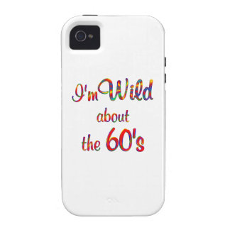 Wild About the 60s Case-Mate iPhone 4 Case