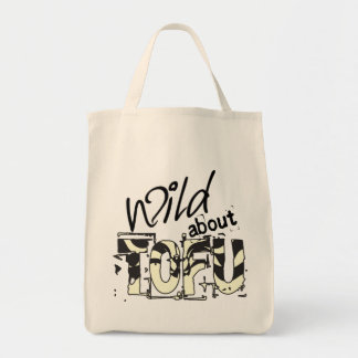 Wild about TOFU Grocery Tote Bag