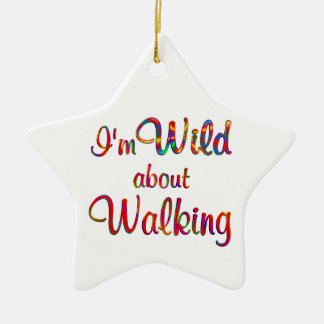 Wild about Walking Christmas Ornaments