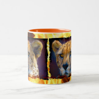 Wild Africa Animal-lovers Big Five Two-Tone Coffee Mug