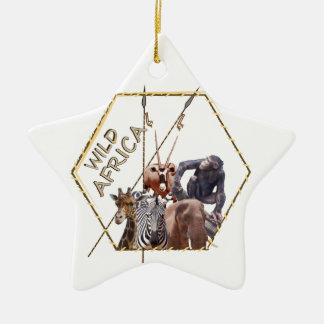 Wild Africa Christmas Ornament