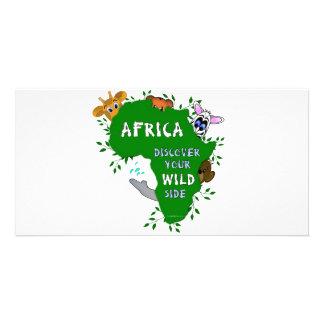Wild Africa Customised Photo Card