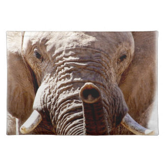 Wild Africa Elephant Head Placemat