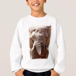 Wild Africa Elephant Head Sweatshirt