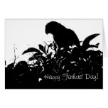 Wild Amazon Parrot Fathers' Day Card