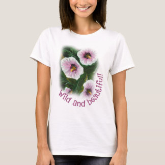 Wild and beautiful basic t-shirt