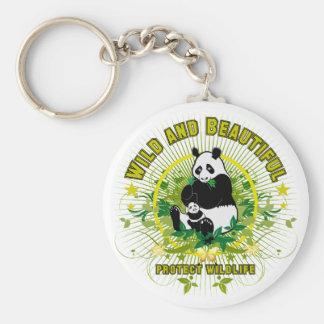 Wild and beautiful Panda Keychains
