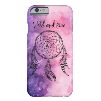 Wild and free colorful to dreamcatcher marries barely there iPhone 6 case