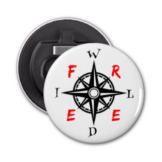Wild And Free Traveller Compass