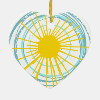 Wild and Free You Are My Sunshine Christmas Ornament