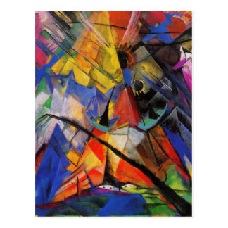 Wild and Funky Abstract Art Cards, Postage, Gifts Postcard