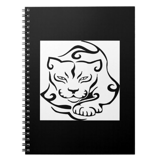 Wild and Gorgeous Cougar Spiral Notebook