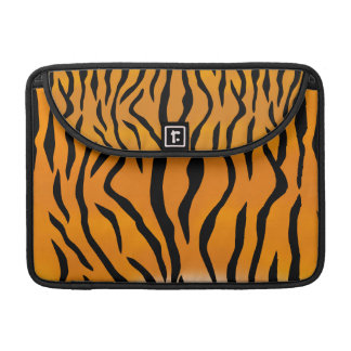Wild and Natural Tiger Stripes Pattern Sleeves For MacBook Pro