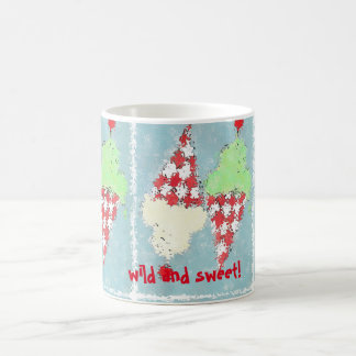 """Wild and Sweet!"" ice cream mug"