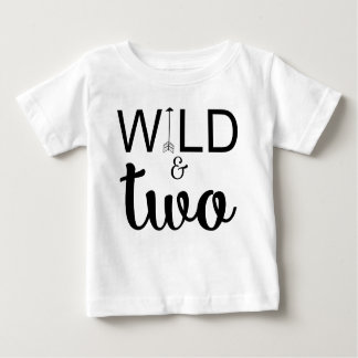 Wild and two arrow 2nd birthday shirt