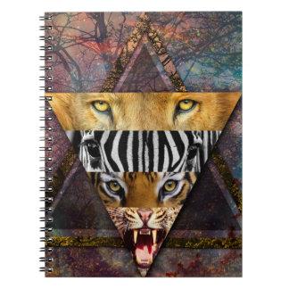 Wild Animal Adventure Wildlife Fun Notebook