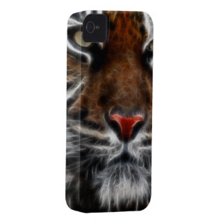 Wild Animal Big Cats Tiger iPhone 4 Cases
