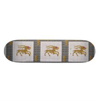 WILD ANIMAL DEER HUNT ZODIAC Graphic NAVIN JOSHI Skateboard