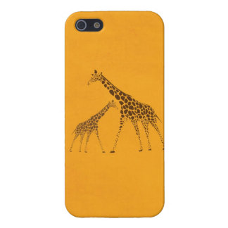 Wild Animal Giraffe Picture iPhone 5/5S Case