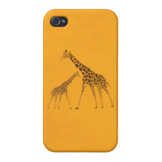 Wild Animal Giraffe Picture Covers For iPhone 4