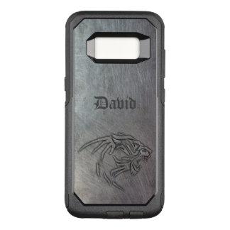 Wild Animal Metal Tribal OtterBox Commuter Samsung Galaxy S8 Case