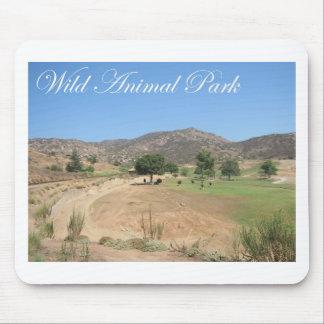 Wild Animal Park Mouse Pad