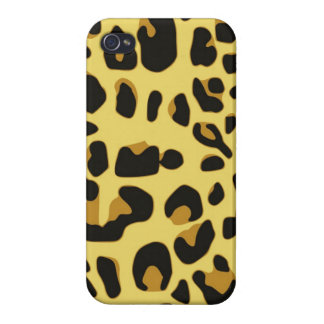 Wild Animal Pattern iPhone 4 Cover