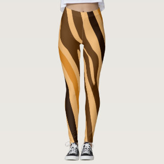 Wild Animal Print Pattern Leggings