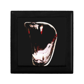 Wild Animal Teeth Fang Small Square Gift Box
