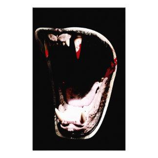 Wild Animal Teeth Fang Stationery
