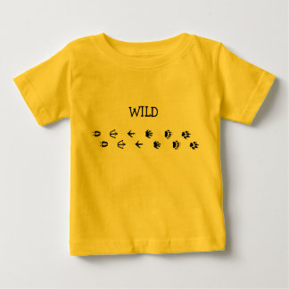Wild Animal tracks Baby T-Shirt