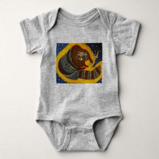 Wild Animals 1Z, by TRICKSTER REX Baby Bodysuit
