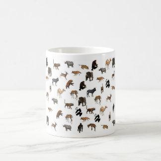 Wild Animals Basic White Mug