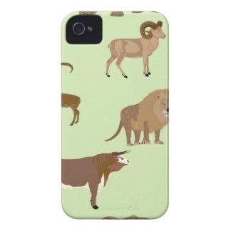 Wild animals iPhone 4 case
