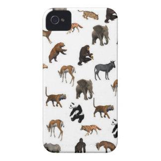Wild Animals iPhone 4 Case-Mate Cases