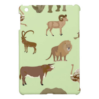 Wild animals cover for the iPad mini