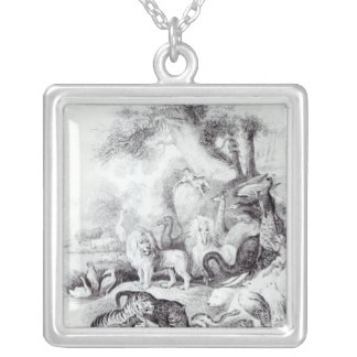 Wild Animals from 'A History of the Earth Silver Plated Necklace