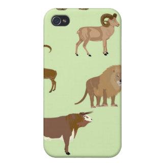 Wild animals case for iPhone 4