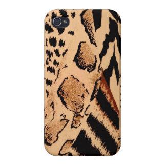 Wild Animals Pattern iPhone 4 Cases