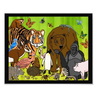 Wild Animals Photo Print