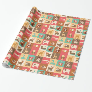 Wild Animals Wrapping paper