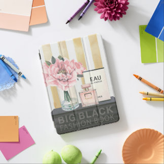 Wild Apple | Big Fashion Book - Striped iPad Air Cover
