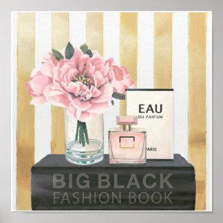 Wild Apple | Big Fashion Book - Striped Poster