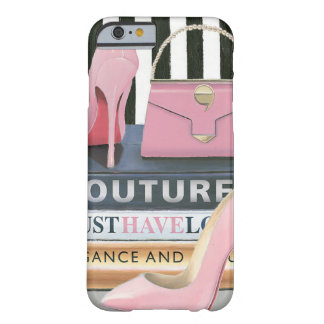 Wild Apple | Couture Stripes - Shoes & Bag Barely There iPhone 6 Case