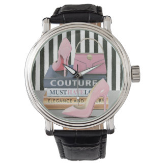 Wild Apple | Couture Stripes - Shoes & Bag Watch