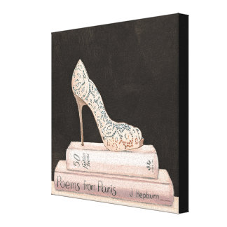 Wild Apple | Elegant High Heel Fashion Canvas Print